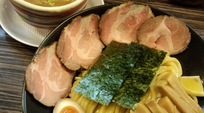 太麺のつけ麺が美味しい「きらり」さん