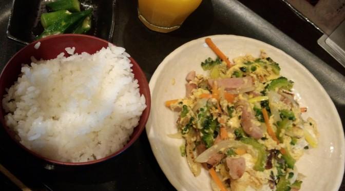 目黒駅近くの沖縄料理「なんちち食堂」