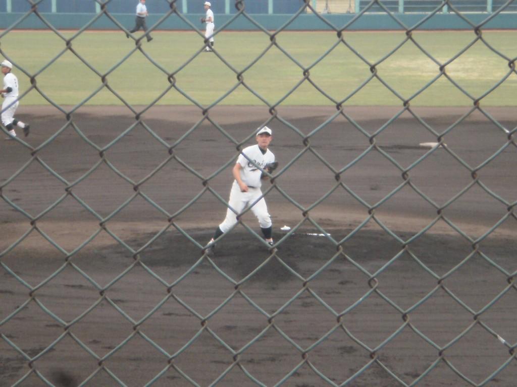 乙訓エースの上野投手