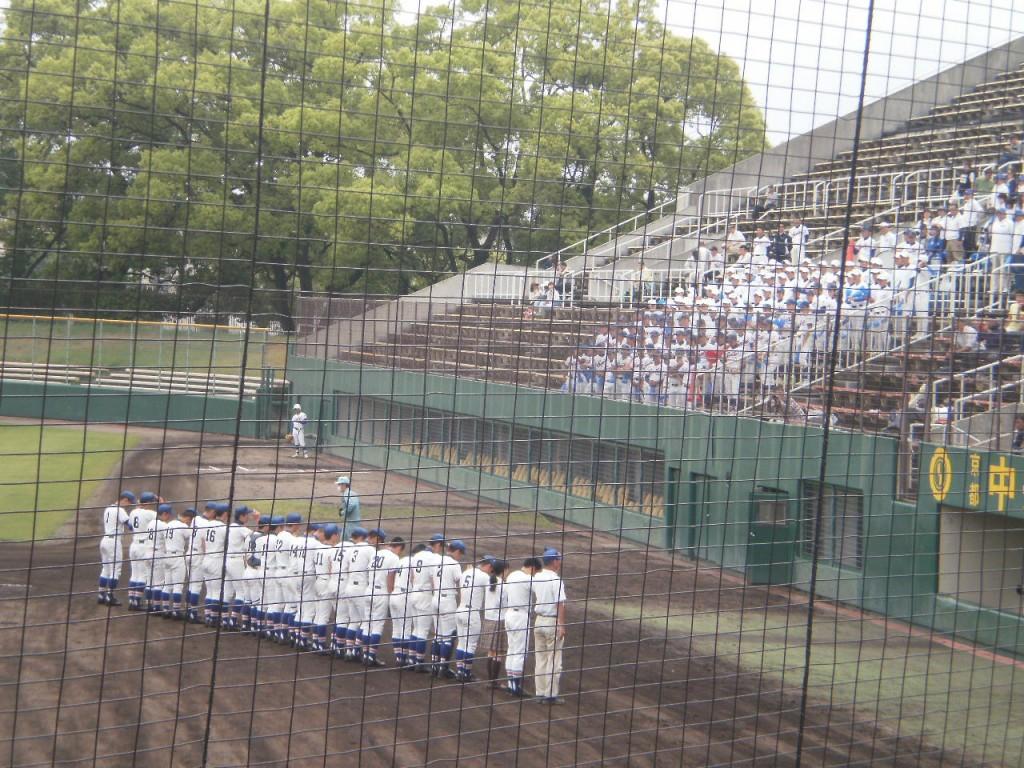 試合前の福知山成美選手達