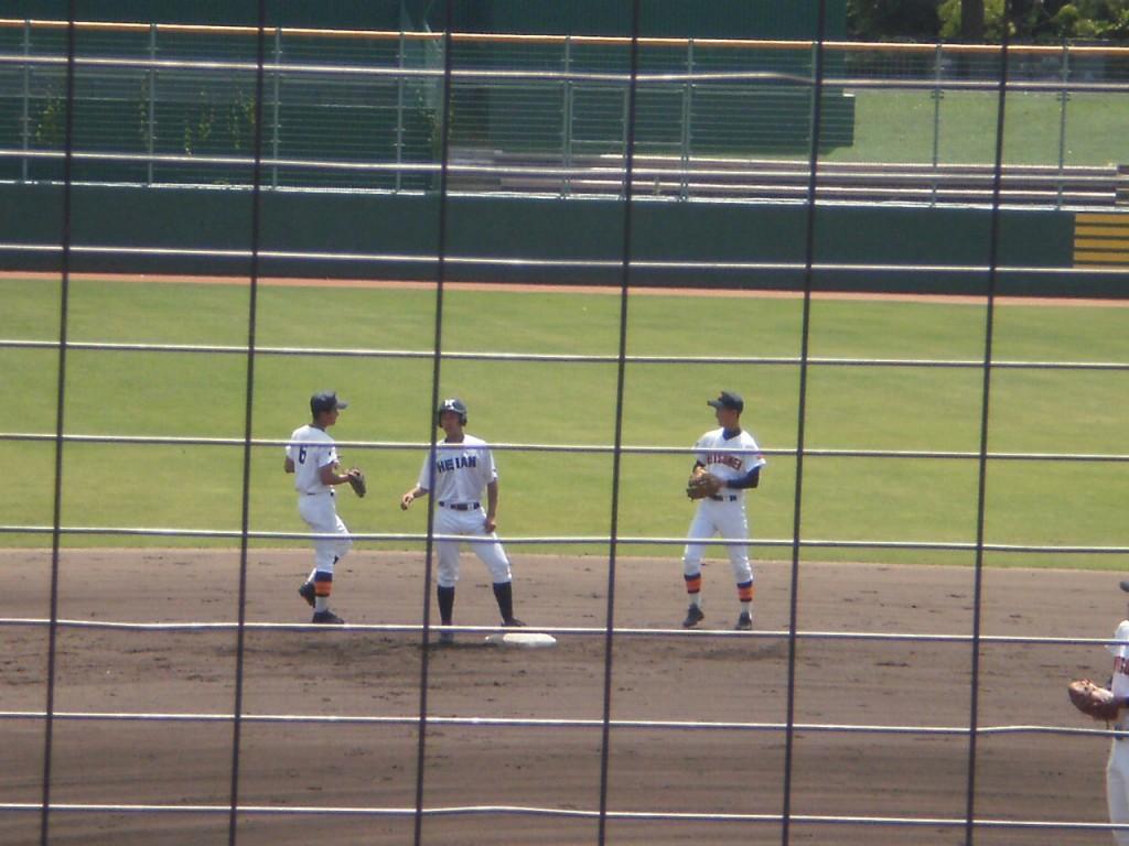 タイムリー2塁打の橋本選手