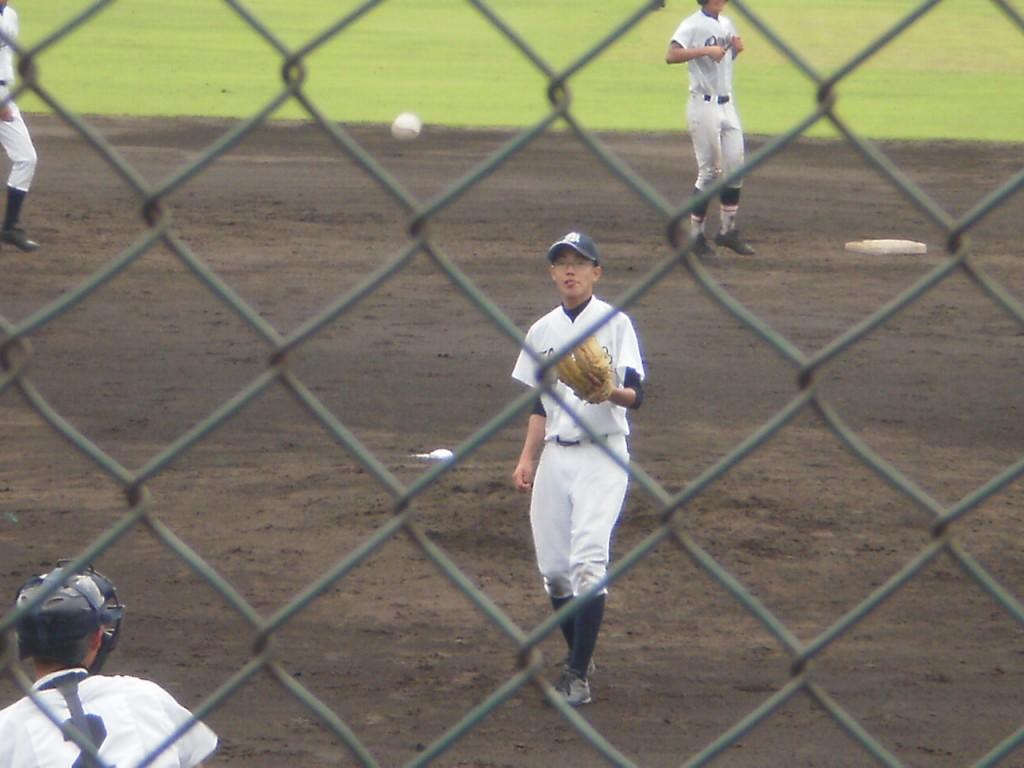 京教大付2番手の奥村投手