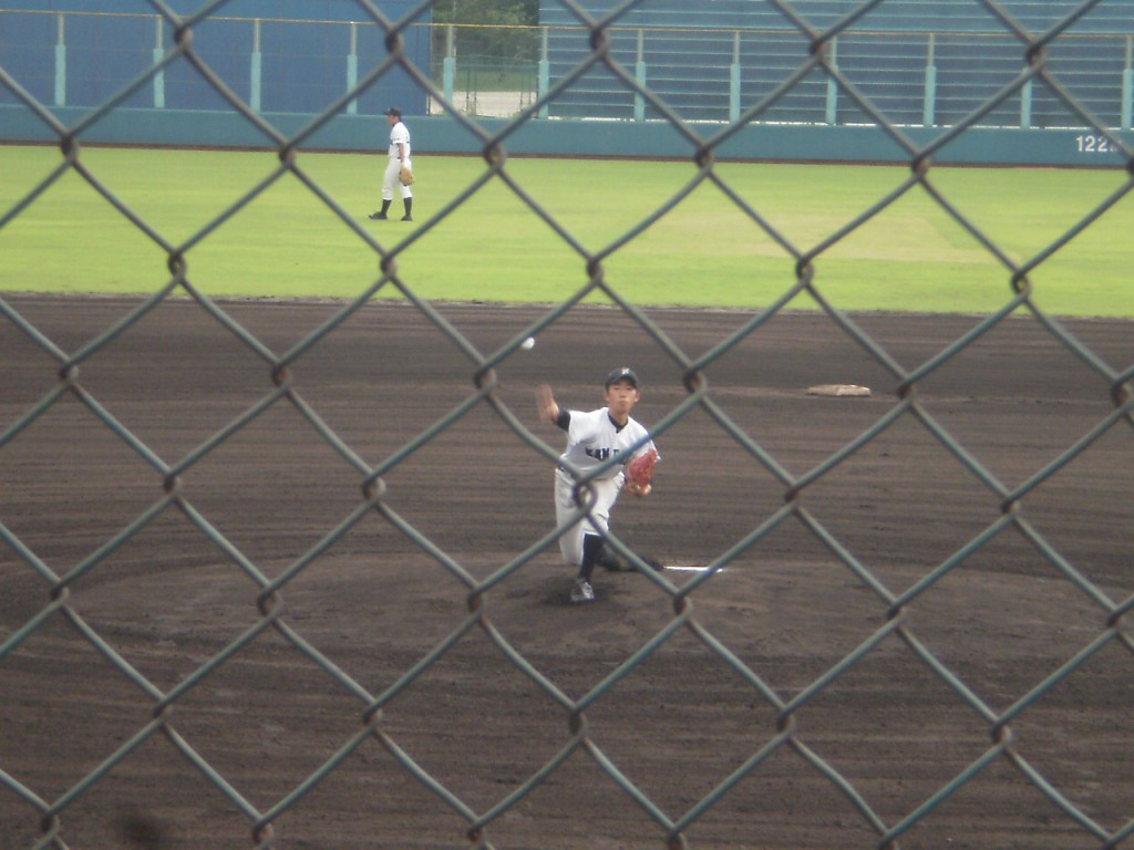 亀岡先発の斎藤投手