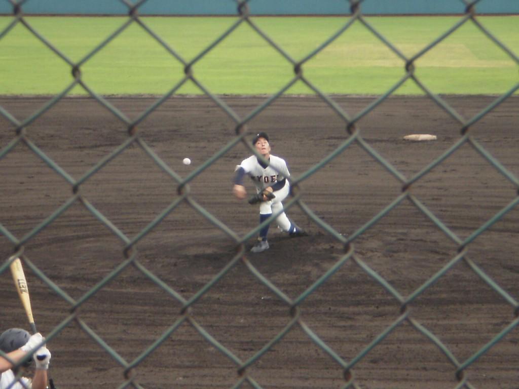 京都共栄エースの浅井投手