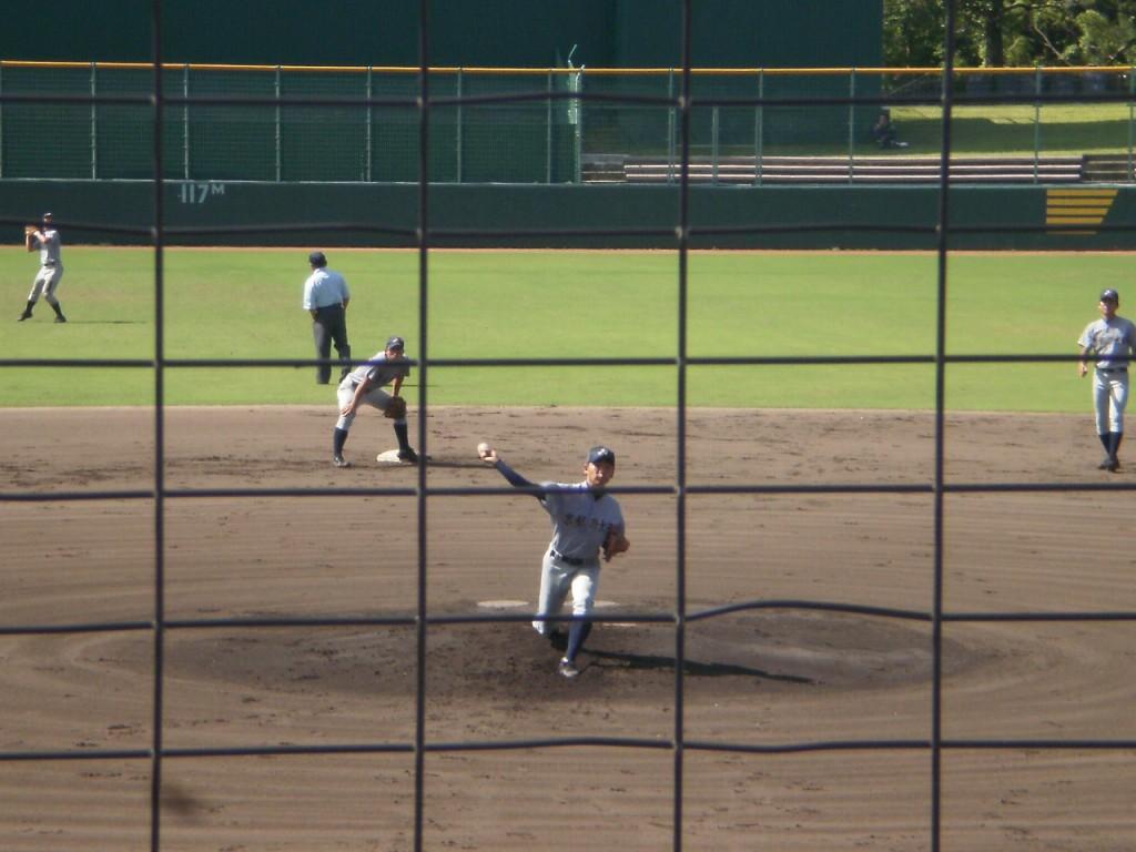 京都外大西のエース安田投手