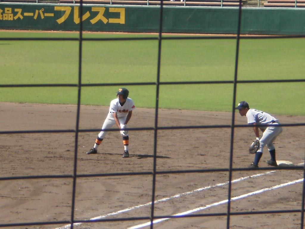 チーム初安打の宮崎選手