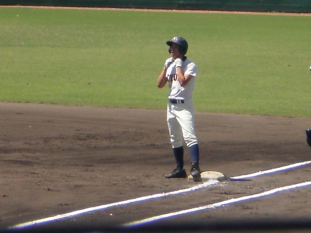3点目のタイムリーの福田選手