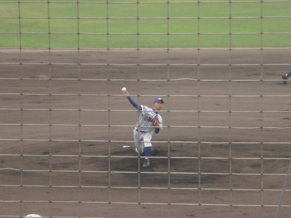 武庫荘総合のエース金井投手