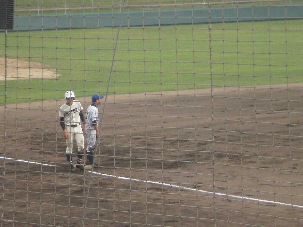 タイムリー3塁打の田村選手