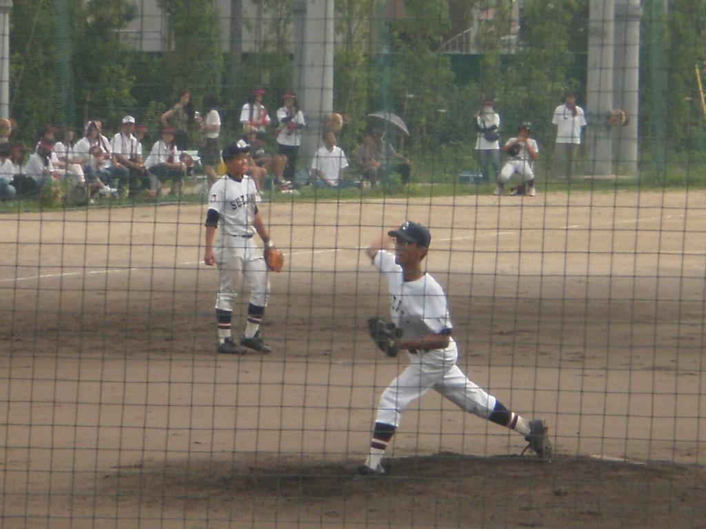 朱雀の2番手投手