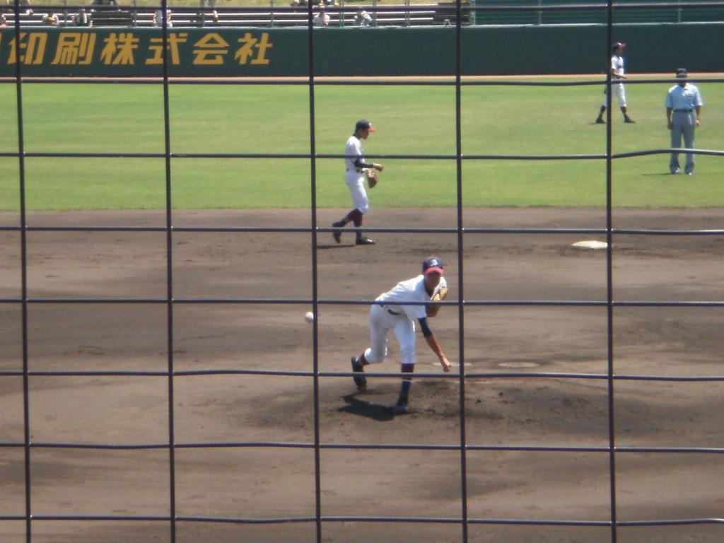 京都すばる先発の山田投手