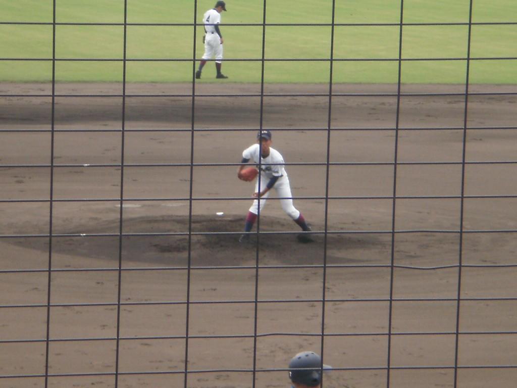 鳥羽のエース遠藤投手