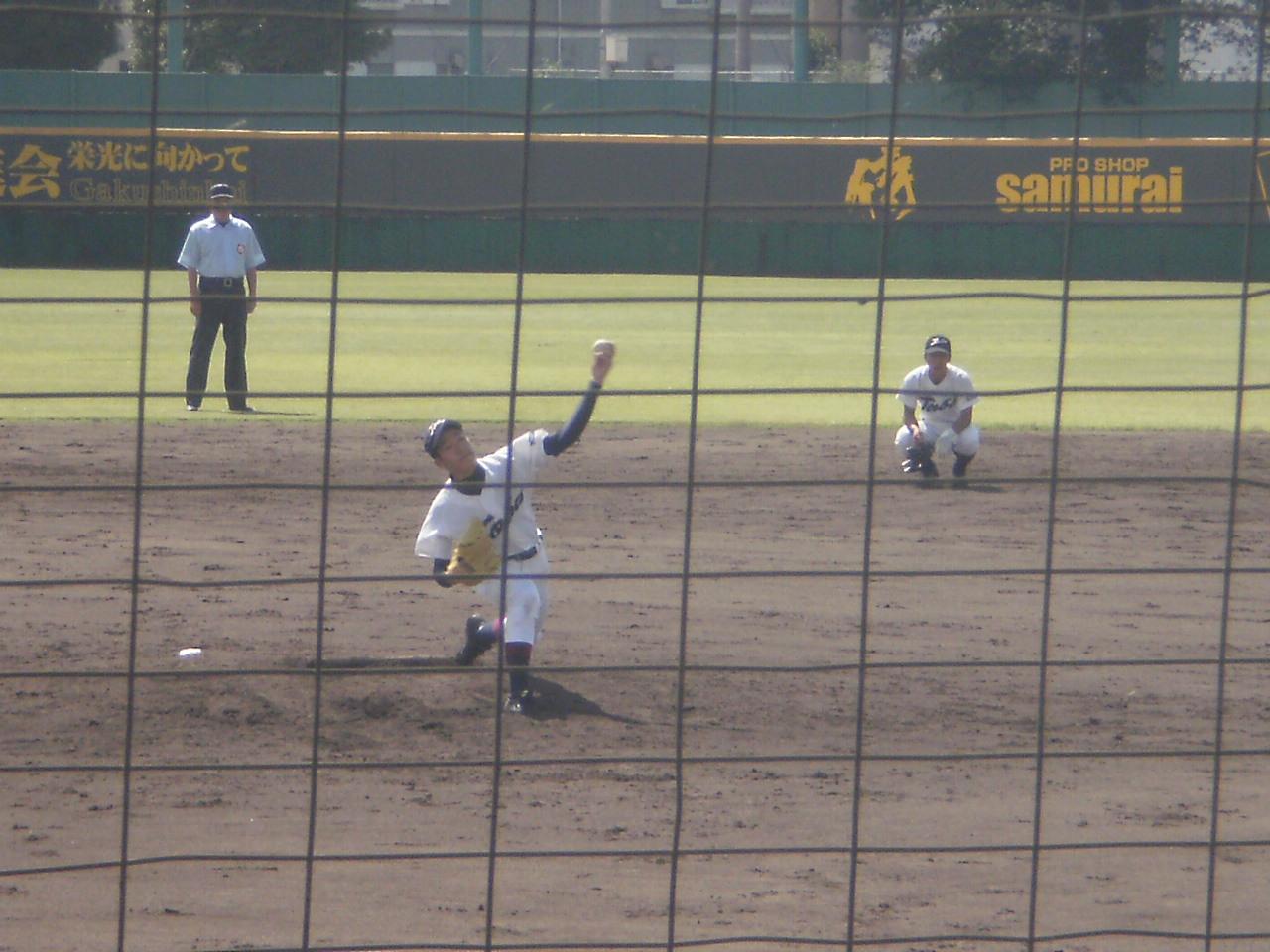 鳥羽 VS 京都学園