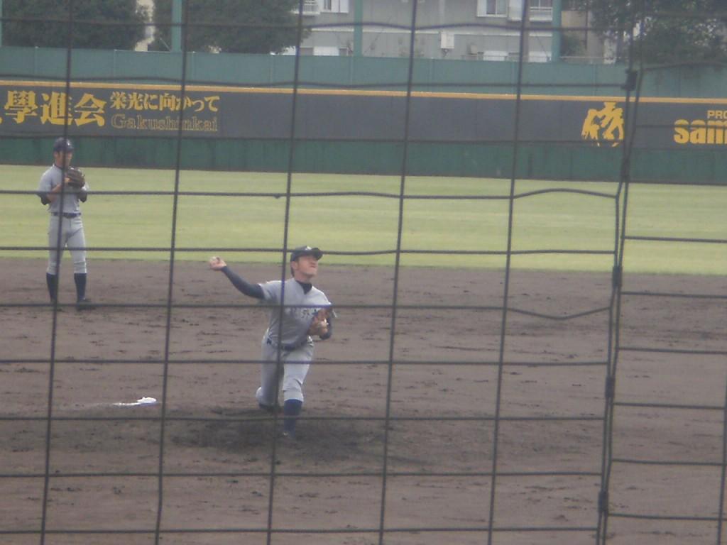 京都外大西2番手の朝倉投手