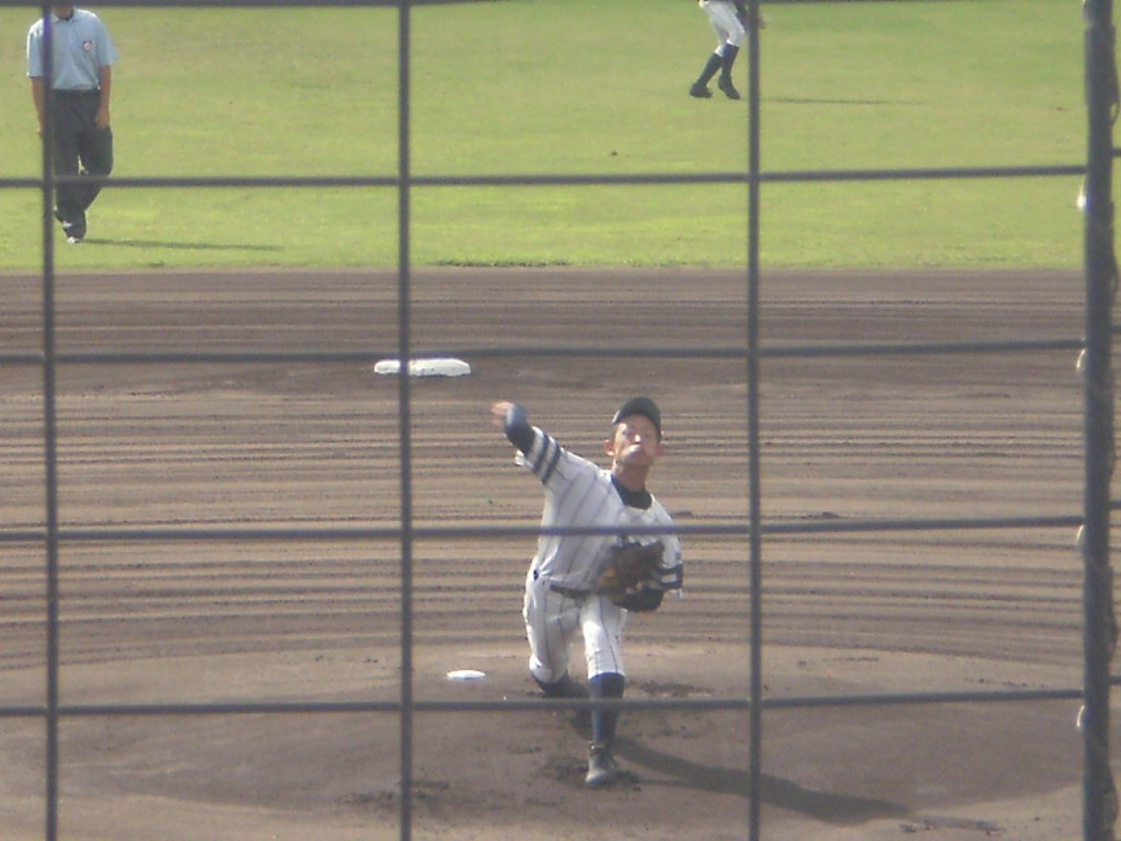 京都翔英先発エースの瀧野投手