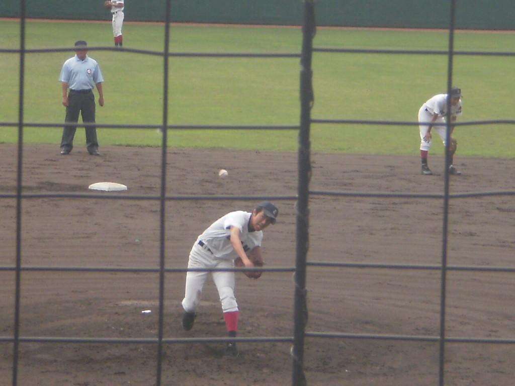 大谷エースの上阪投手