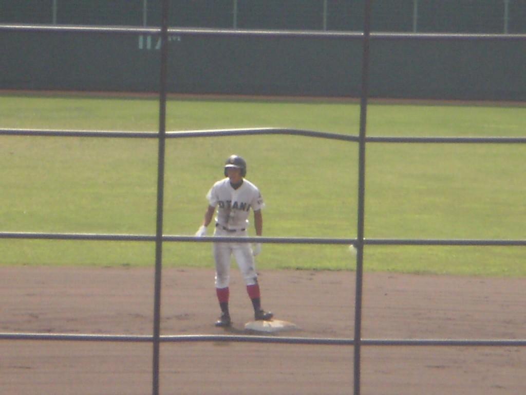 2塁打の本城選手