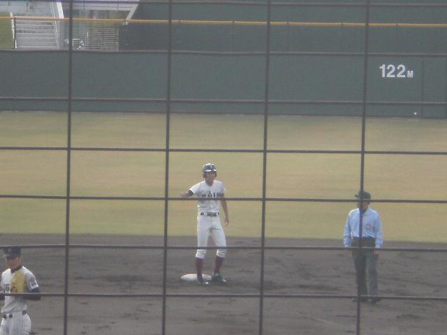 タイムリー2塁打の三井選手