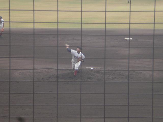 大阪桐蔭2番手の香川投手