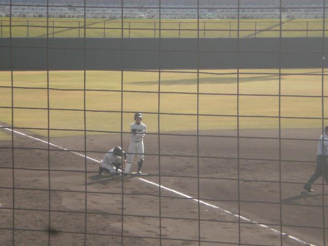 タイムリー3塁打の吉高選手