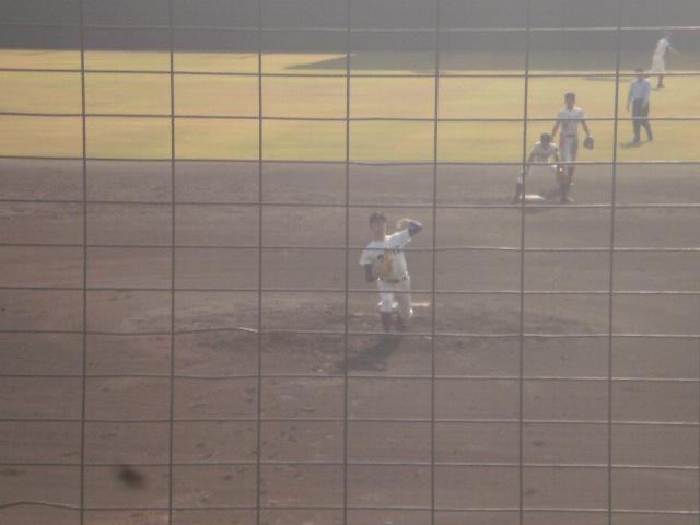 大阪桐蔭エースの高山投手
