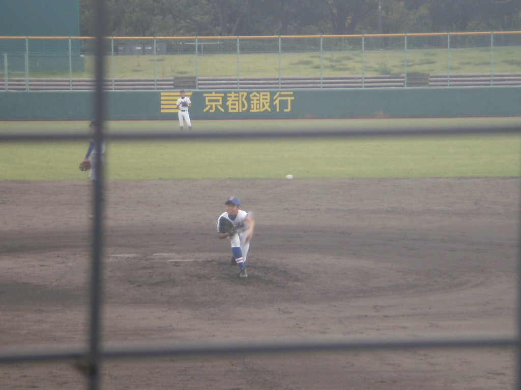 成美2番手の嶋津投手
