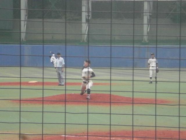 佼成学園エースの梅田投手