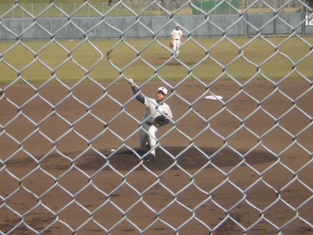 日大三先発の阪井投手