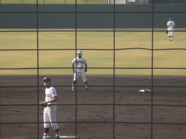 早くも3打点目の七野選手