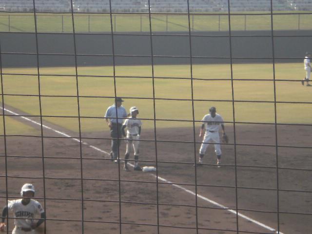 タイムリー3塁打の濱野選手
