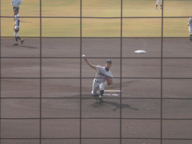 滋賀学園エース右腕の神村投手