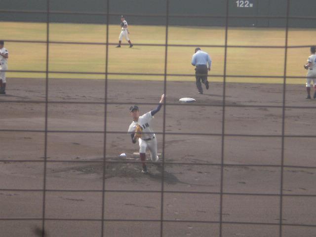 大阪桐蔭の左腕エース高山投手