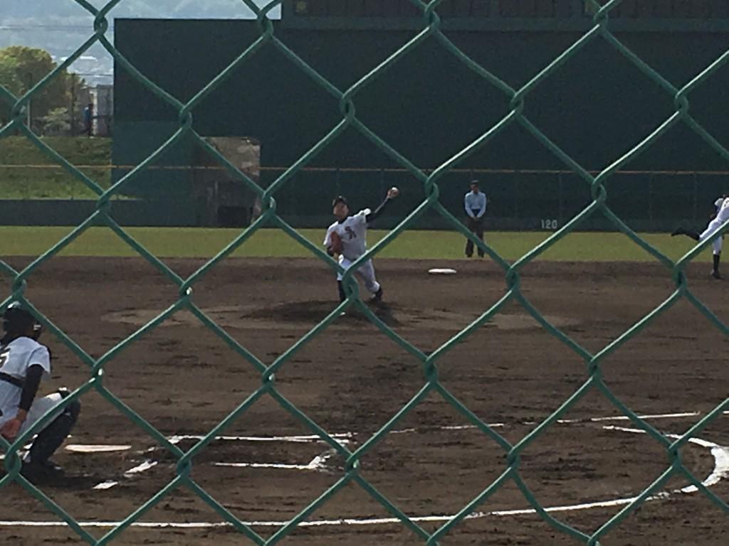 堺東エース左腕投手