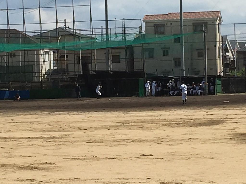 富田林2番手投手