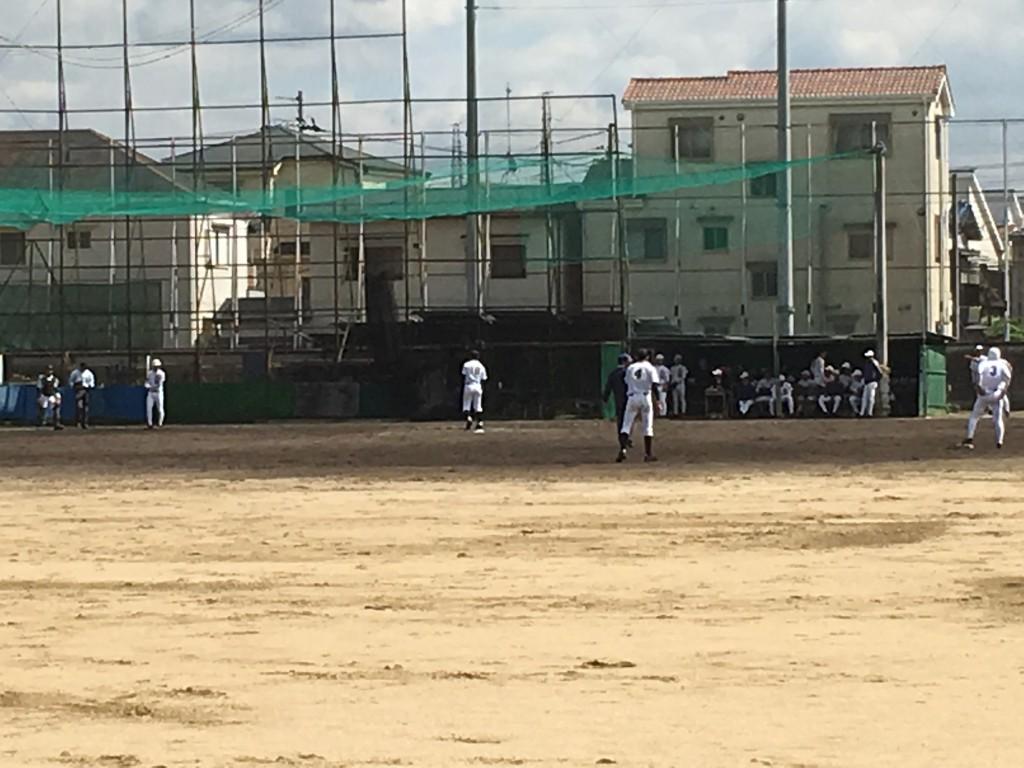 富田林3番手の投手