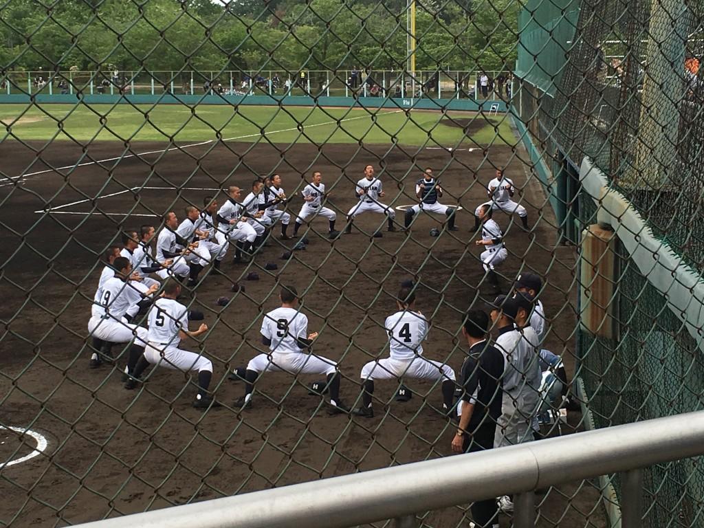 平安恒例の試合前の「儀式」