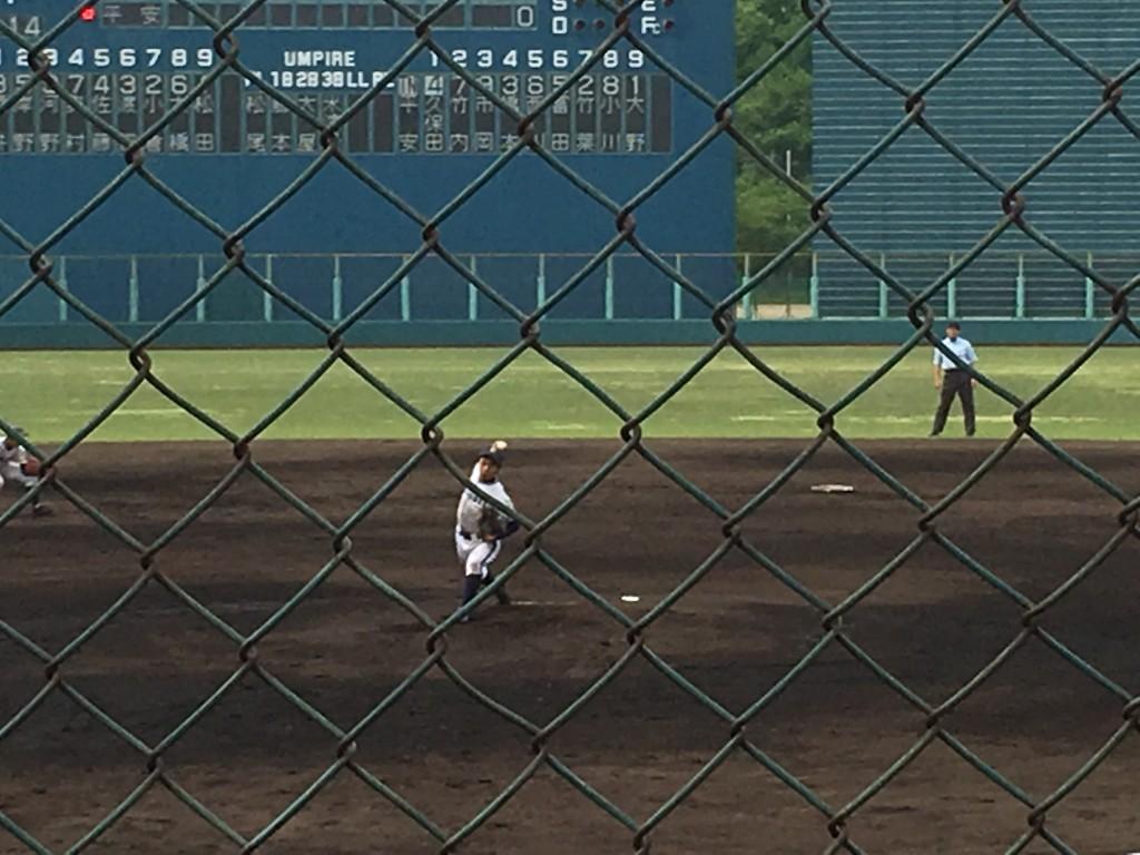 洛星先発の松田投手