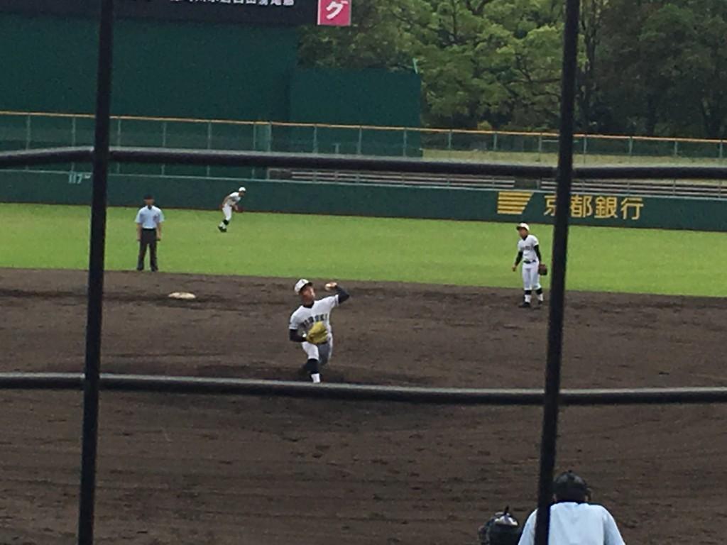 日星先発のエース波多野投手