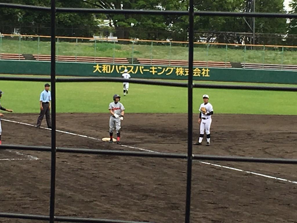 3塁打の安藤選手