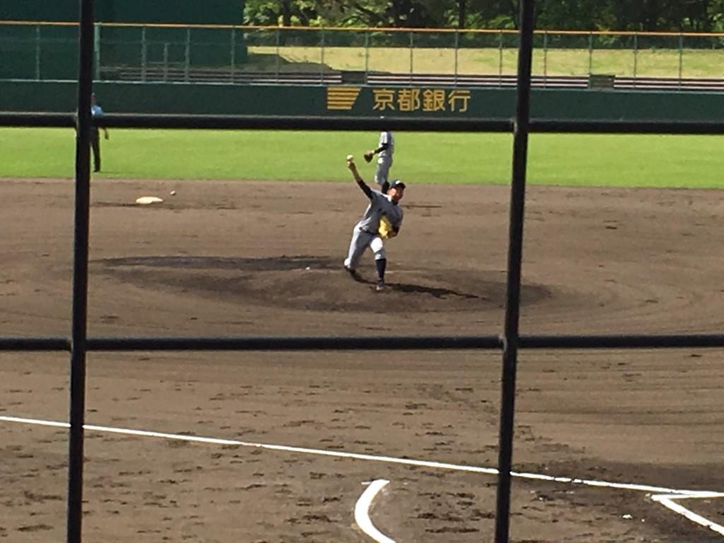 京都外大西エース宮城投手