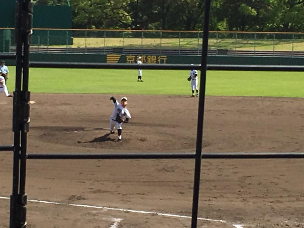 翔英エースの瀧野投手
