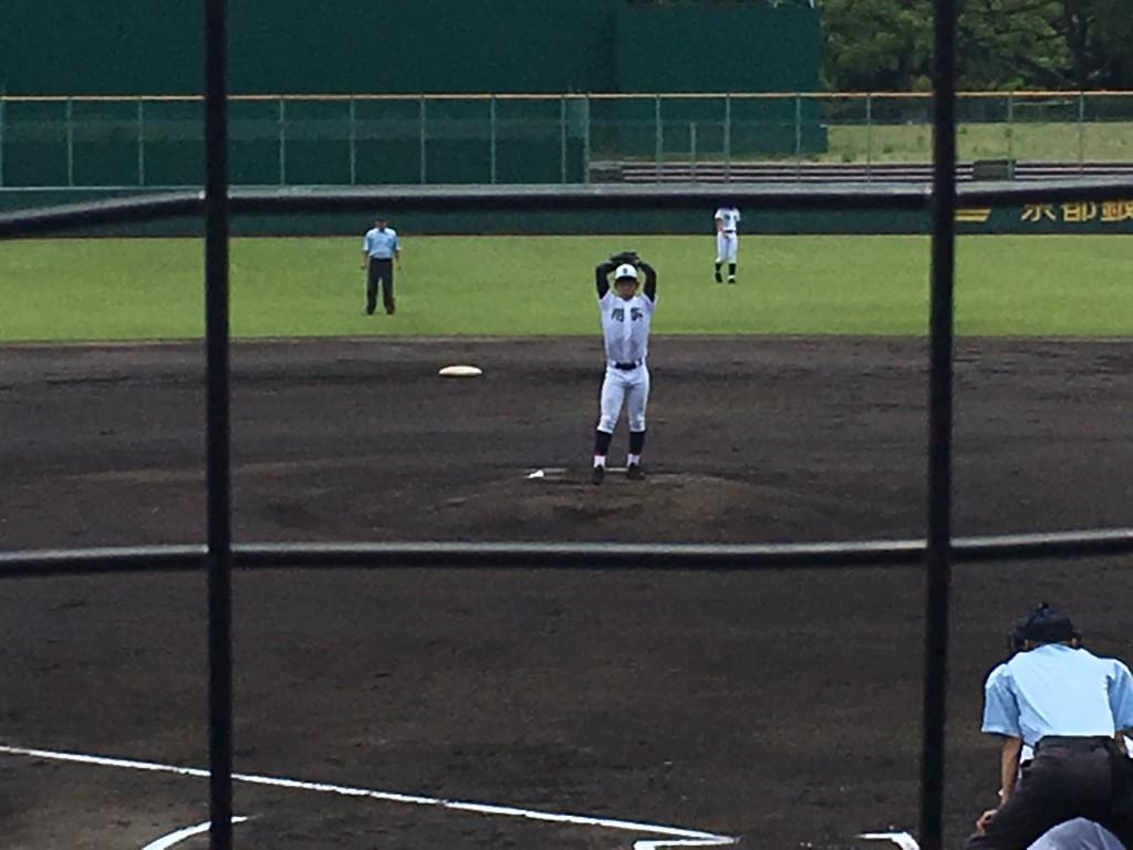 京都翔英エース瀧野投手
