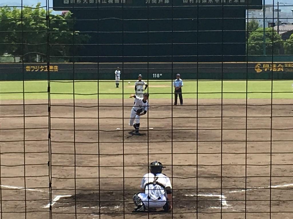 福知山エースナンバーの本田投手