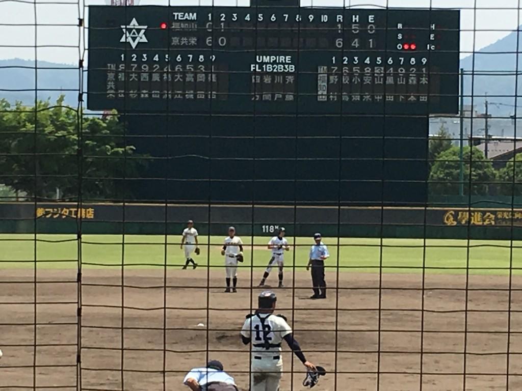 タイムリー2塁打の安永選手
