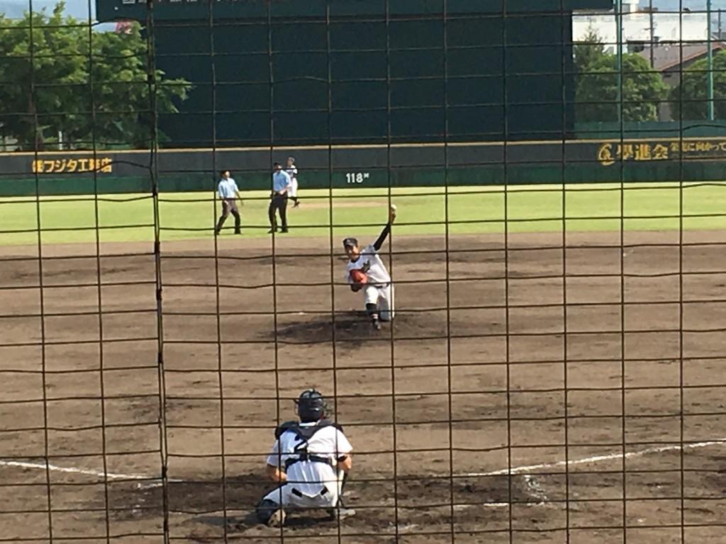 綾部先発の和田投手