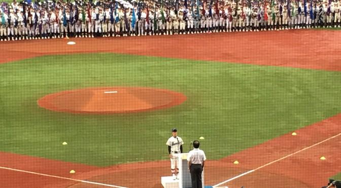 [ 開会式 ] 第98回全国高等学校野球選手権大阪大会