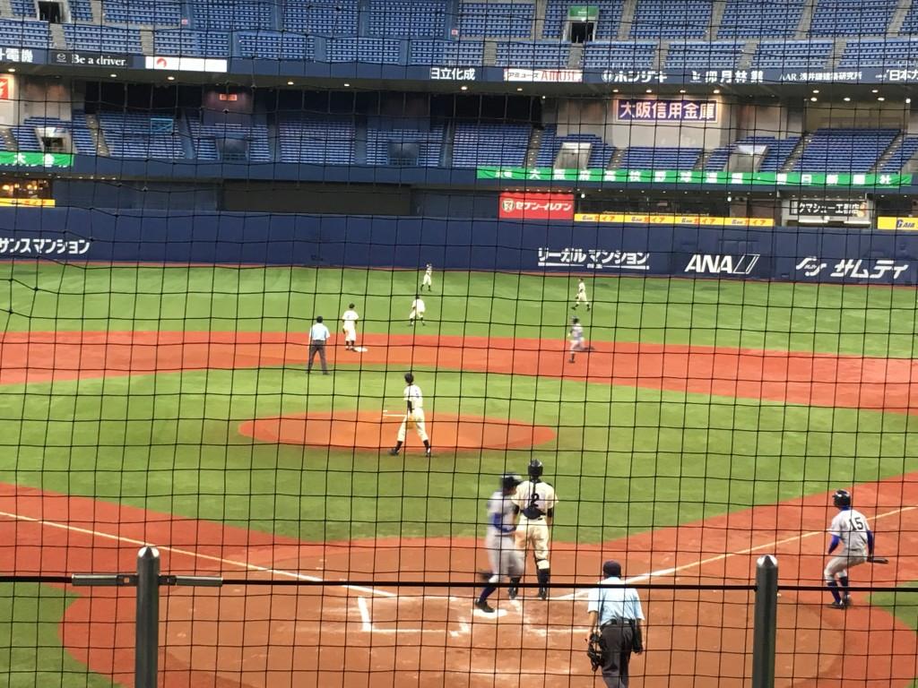 澤田選手が6点目のホームイン
