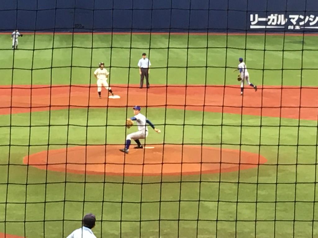 大阪2番手の星野投手