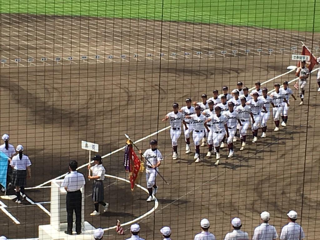 前年の覇者・鳥羽高校
