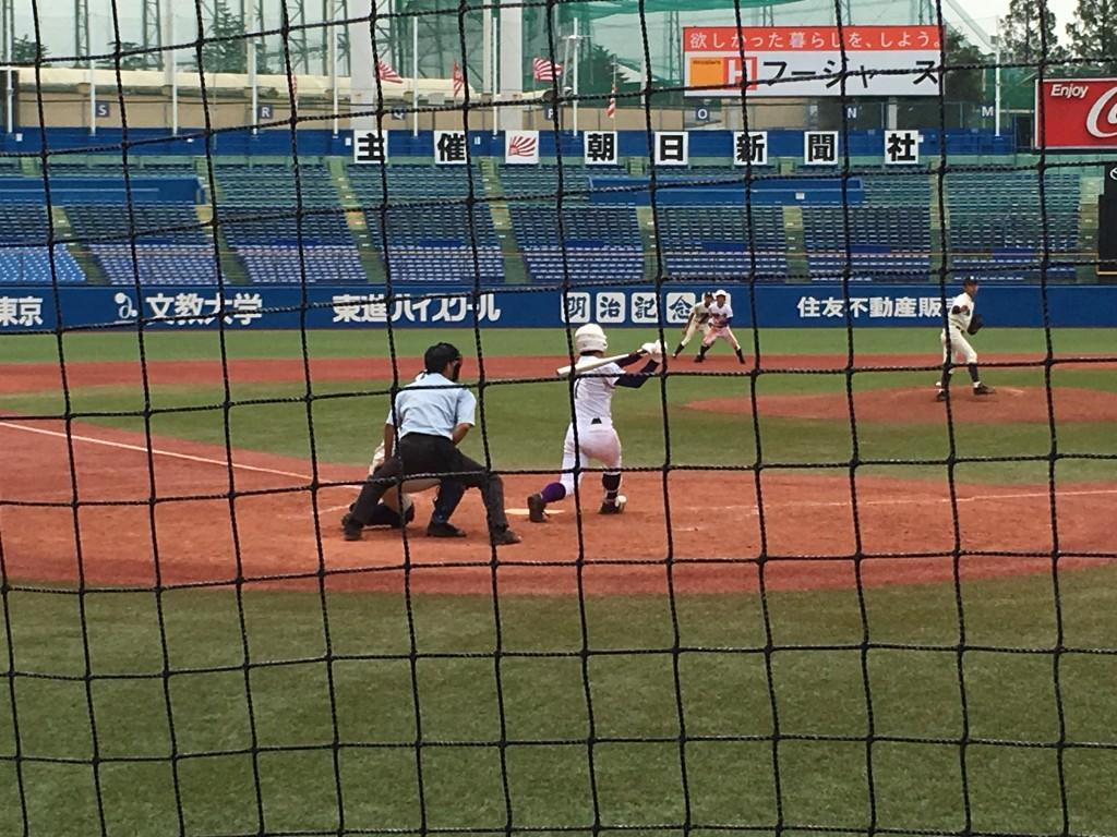 米田選手のサヨナラホームラン
